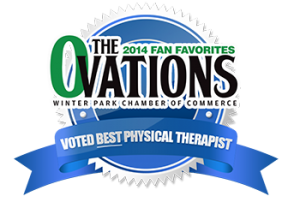 Congratulations to Dr. Ron Miller!  Voted Best Physical Therapist in Winter Park and Maitland