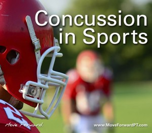 What happens during a concussion?