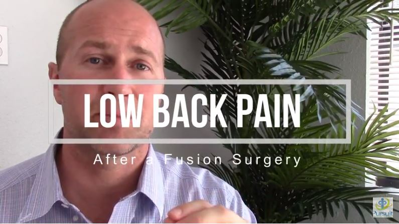 How To Resolve Low Back Pain After Having a Lumbar Fusion Surgery | Orlando FL