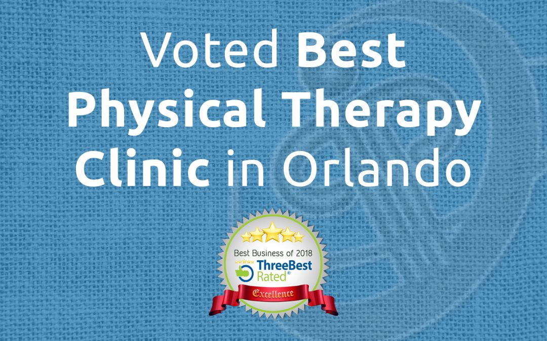Voted Best Physical Therapy Clinic in Orlando in 2018!