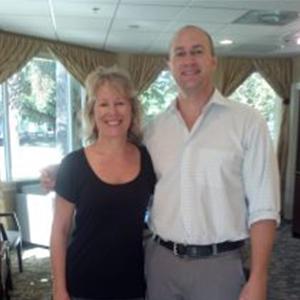 Dr. Ron Miller with Deborah