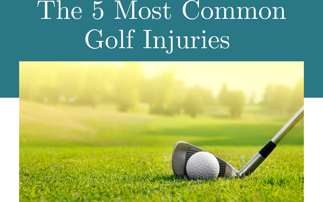 5 Most Common Golf Injuries